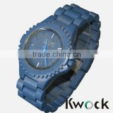 Limited Edition Natural Eco-friendly Wood Clock Wrist Watch For Man and Women New Fashion Hand Craft Watch