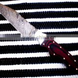 "udk h64"" custom handmade Damascus hunting knife / TANTO knife with sheet handle"