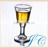 Promotional wholesale glass goblet wine glass for home/bar/wedding