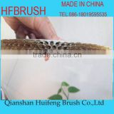 Aluminum brass wire brush