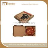 2016 triangle shape pizza box