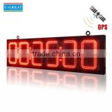 Remote Control Outdoor Waterproof 6 digits LED Race Clock / Timer for Marathon                                                                         Quality Choice