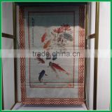 printed pattern craft roman blind and shade for window shades and roller shades popular in Japan