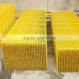 FRP drain grating fiberglass trench cover grating, popular for chemical factory, oil&gas plant using