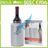 High Quality Wine Beer Bottle Cooler Insulated Collapsible Wine Freezer Bag