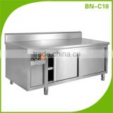 (BN-C18) Cosbao stainless steel kitchen ready made cabinet design cupboards dish warming cabinet
