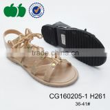 Summer newest style pvc jelly shoe ladies sandals 2016                                                                         Quality Choice                                                     Most Popular