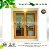 Solid timber french casement window with double safety glass