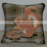 PLUS hand embroidery design cushion cover