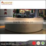 Hot selling high gloss salon reception desk