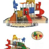 kid's outdoor plastic playground,amusement park equipment                                                                         Quality Choice