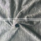 100% Spun polyester crushed slub jersey Solid knitting Fabric