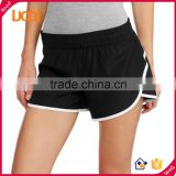 Wholesale womens breathable sexy tight gym workout woven running shorts                                                                                                         Supplier's Choice