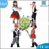 Newest Halloween child Caribbean pirate cosplay costumes