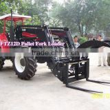 Factory Supply best quality front end loader for farm tractors/ log grab on front loader
