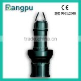 axial flow submersible water pump with control panels