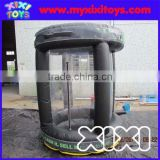 XIXI Customized Promotion Cheap Inflatable Money Machine,Cash Cube                                                                         Quality Choice