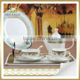 Wholesale germany porcelain dinnerware sets, ceramics porcelain antique porcelain plates