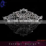 Fashion Butterfly Tiara Crown For Pageant