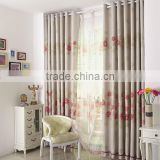 China 100% polyester fabric or 100% cotton fabric curtains fabric