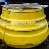 Road construction equipment stone crusher spare part foundry