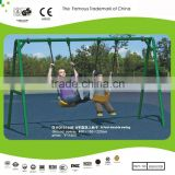 Sportsplay Modern Metal Swing Set & Double Swing 13.1ftx5ftx7.2ft Galvanized metal
