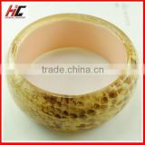 Promotion High Quality Beautiful Flower Fashion Resin Bangle