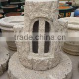 item75 yellow outdoor lantern stone japanese