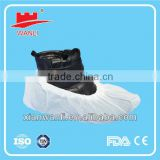 Hot-selling disposable nonwoven pp shoe cover, disposable surgical shoe cover, nonwoven white shoe cover