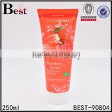 250ml soft cosmetic body lotion packaging tube/ cosmetic packaging for foot cream                                                                         Quality Choice