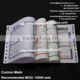 Personaized railway consignment note printing in China