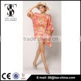 Collection of ladies sexy beach wear wrap skirt with floral printing                                                                         Quality Choice