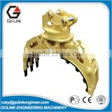 widely used high quality cheap price china trade assurance supplier excavator hydraulic rotator rock grapple