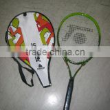 Popular sell green 25inch kids tennis racquet mini tennis racket junior tennis racker for kids 7-13yrs