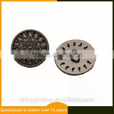 Hot Sale Christmas Metal Sewing Button Plated Shank Buttons