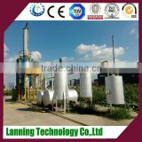 2016 Automatic newest design Distill pyrolysis fuel oil/waste engine oil to base oil plant