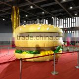 2015 Good inflatable product, Giant and high quality inflatable burger king for sale