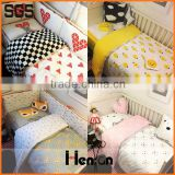 wholesale custom printed baby bedding set baby