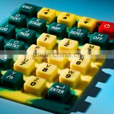 Custom made silicone botton rubber keypad Quality keypad Brand name keyboard keypad for all types of applications