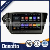 good quality black colored 2 din 7 inch car dvd player humanized design video enjoyment gps for kia forte auto
