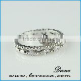 2015 fashion jewelry ring!latest weddingring design !micro pave diamond setting ring-unique jewelry hollow 925 sterling silver
