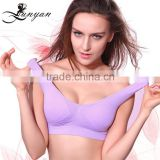 hot Factory Provide Seamless breathable sport bra classical ladies sexy sport bra ladies sport bra