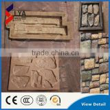 Hot Selling Molds For Concrete Walls, Plastic Stone Veneer Moulds, Silicone Decorative Stone Molds