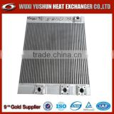 Hot selling OEM plate fin aluminum excavator radiator/hydraulic oil cooler/ oil cooler / oil cooler radiator/ oil heat exchanger