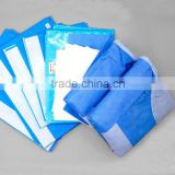 Hot selling CE TUV ISo13485 approved medical flat disposable disposable sterile dressing packs