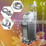 Face Lifting Elite Elight/IPL+RF+nd Yag Laser Tattoo Remover Multifunction Beauty Equipment With Operation Video -YH-III Hair Removal
