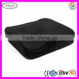 F073 Memory Foam Seat Cushion Luxury Large Office Buckle Plush Velour Cover Large Cushion for Sofa