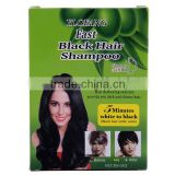 Temporary Type and Powder Form natural black hair shampoo natural henna
