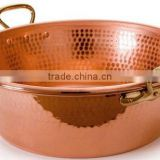 Copper Jam Pan Copper Bowl Copper Hammered Barware