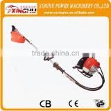 430 gasoline rice wheat harvest machine with shel/gasoline brush cutter/ brush cutter spare parts